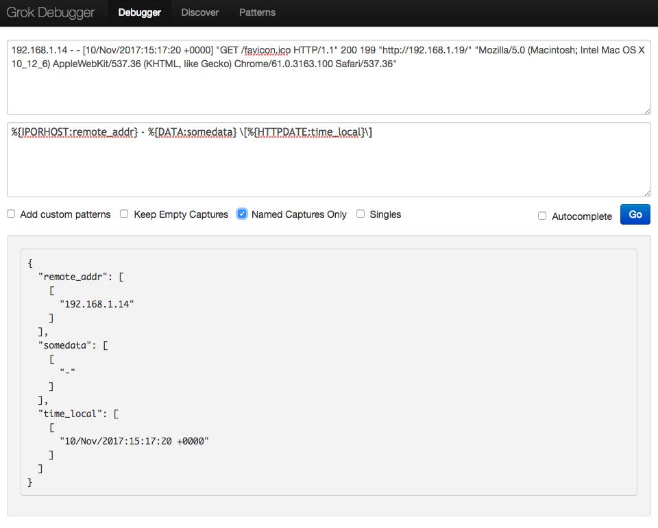 Transforming and sending Nginx log data to Elasticsearch
